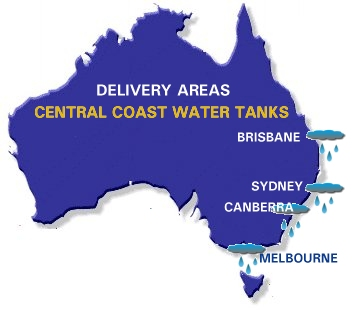 Water Tank Delivery Areas