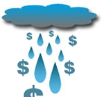 Harvesting rainwater saves money and the environment.